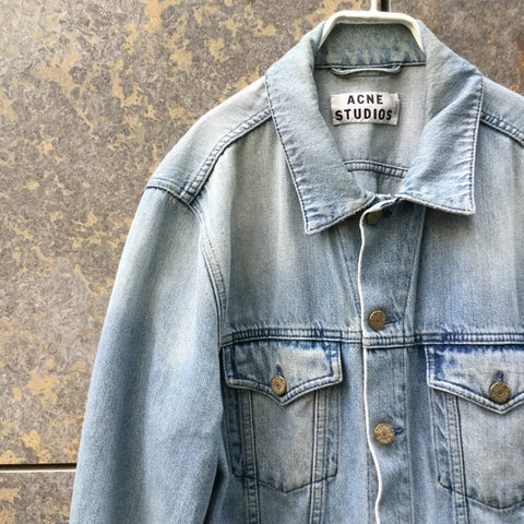 Pale Denim Blue Denim Acne Studio ( jeans ) Jeans Jacket  Size Xl