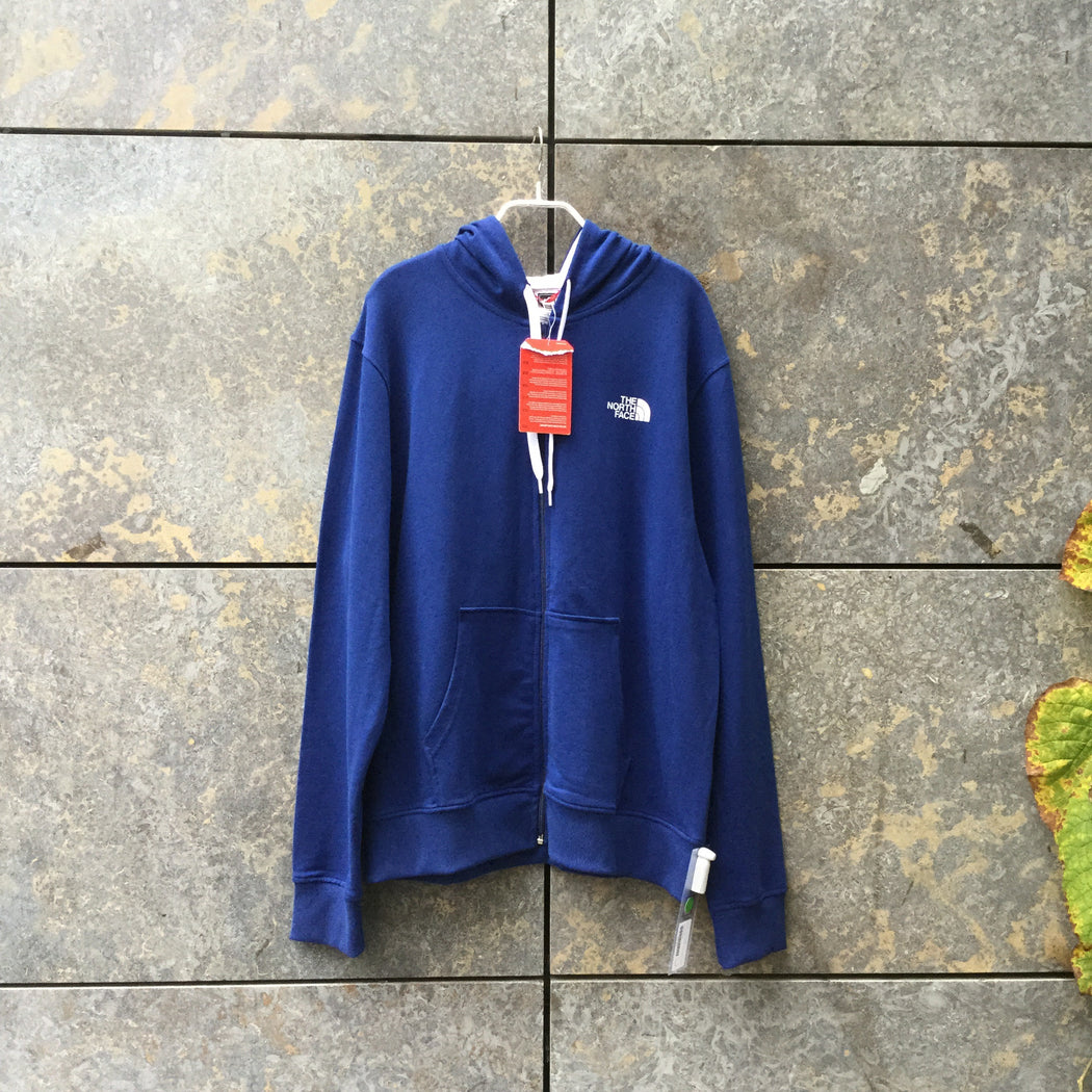 Royal Blue Cotton The North Face Hoodie  Size M/L