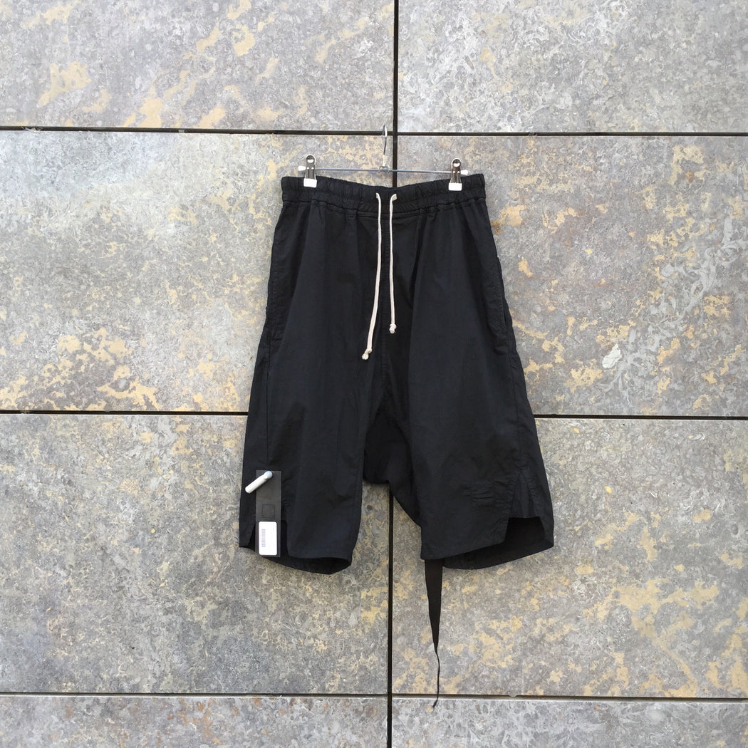 Black Cotton Mix Drkshdw Shorts  Size 32