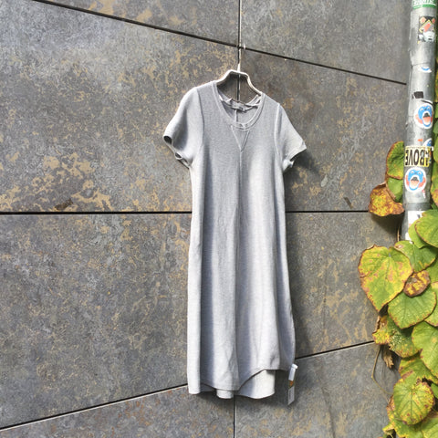 Morning Gray Cotton COS Dress  Size S/M