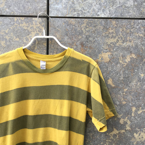 Mustard Cotton American Apparel T-Shirt  Size Xs/S