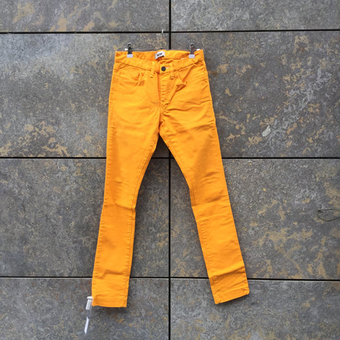 Orange Creamsicle Denim Acne Studios ( mens ) Straight Fit Jeans  Size 28/29