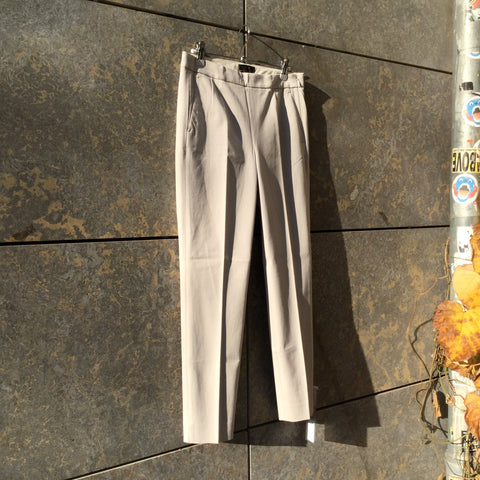Light Gray Cotton Mix J. Crew Trousers  Size 26/27