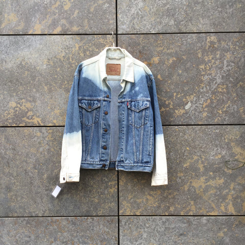 Pale Denim Blue Denim Levi's Jeans Jacket  Size S