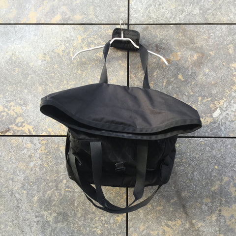 Black Nylon The North Face Shoulder Bag Convertible Multi Pocket