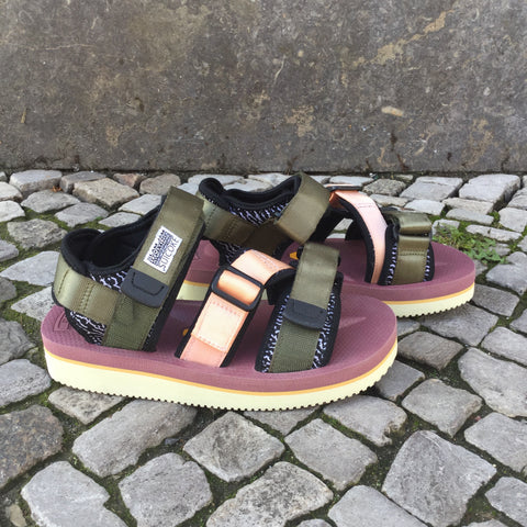 Colorful Synthetic Suicoke Sandals  Size 6