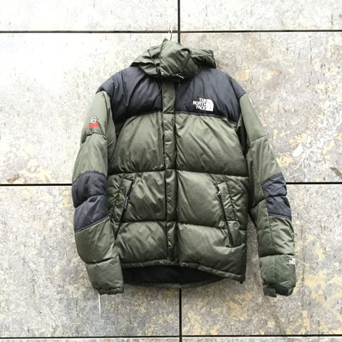 Black-Army Down The North Face Heavy Bomber  Size S/M