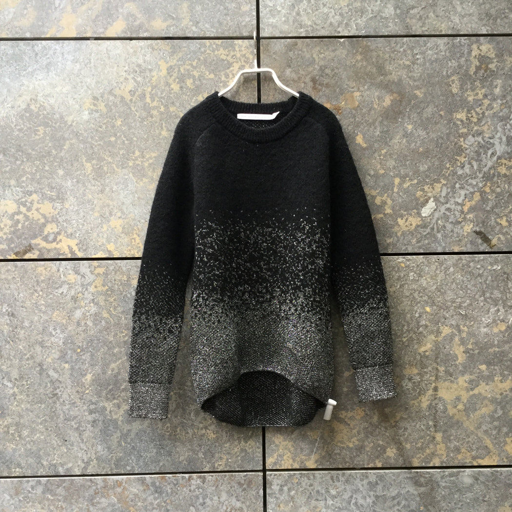 Black-Silver Mohair Mix Other Stories Sweater Loose-fit Size XS/S