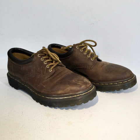 Brown Leather Dr. Martens Oxfords  Size 39