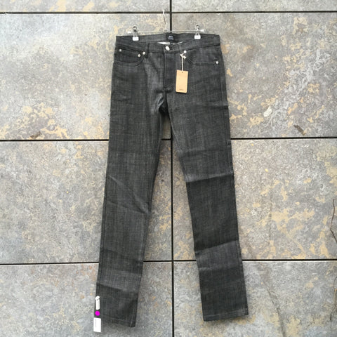 Black Denim A.p.c. ( Mens ) Straight Fit Jeans  Size 32