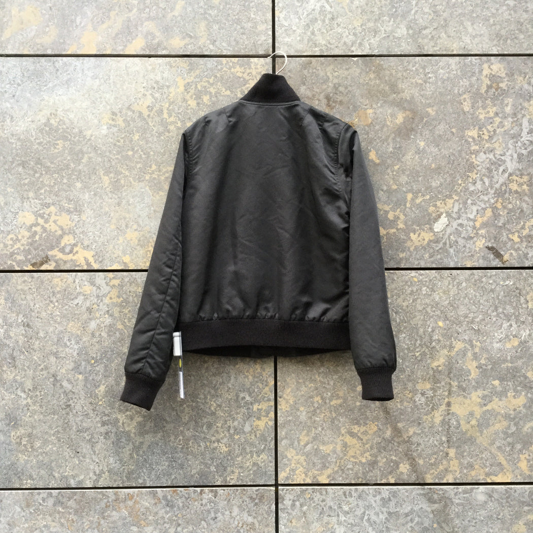 Black Nylon A.p.c. ( Womens ) Bomber Multi Pocket Size M/L