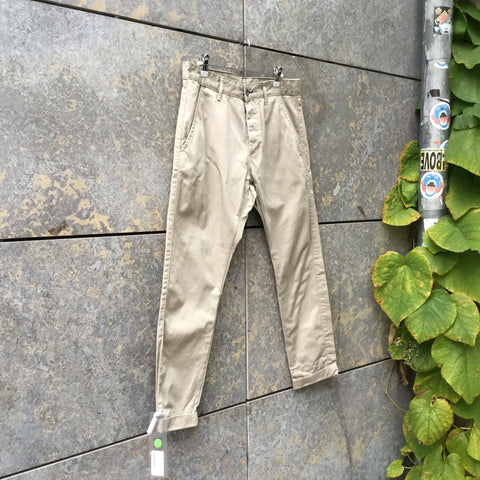 Beige Denim Contemporary Main Jeans  Size 32