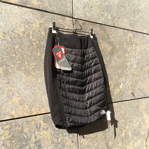 Black Polyester Modern The North Face Skirt Conceptual Detail Size 26/27