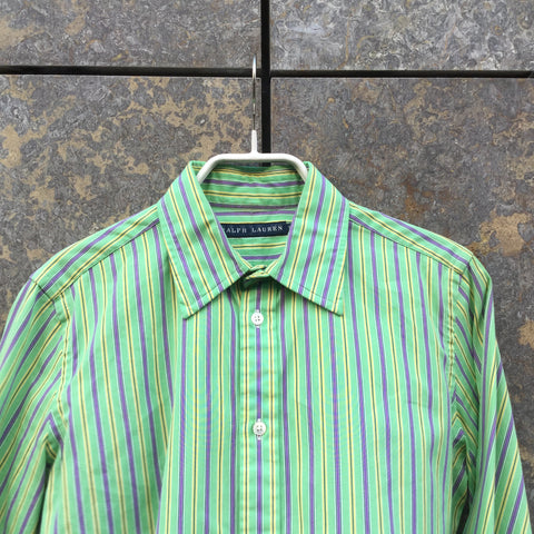 Pastel Color Mix Cotton Ralph Lauren Shirt  Size M/L
