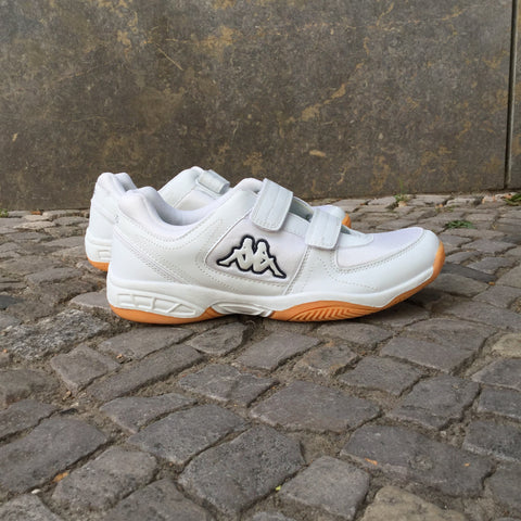 White Synthetic Kappa Sneakers  Size 9