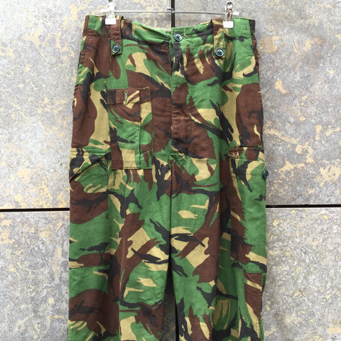Dark Color Mix Cotton Vintage Cargos Multi Pocket