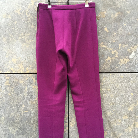 Mauve Wool Acne Studios ( Womens ) High Waist Pants  Size 25/26