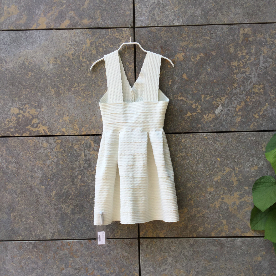 Antique White Synthetic vintage Tank Dress  Size Xs/S