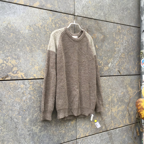 Concrete-Light Gray Wool Mix Iro Sweater  Size S/M