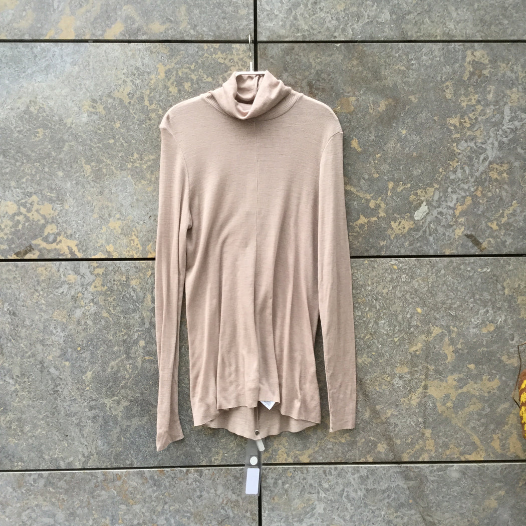 Faded Mauve Wool COS Turtle Neck  Size M/L