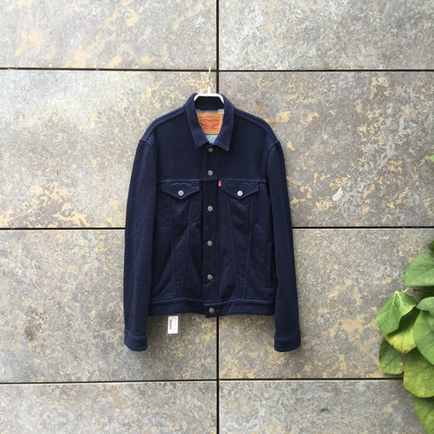 Denim Blue Cotton Levi's Trucker Jacket  Size M