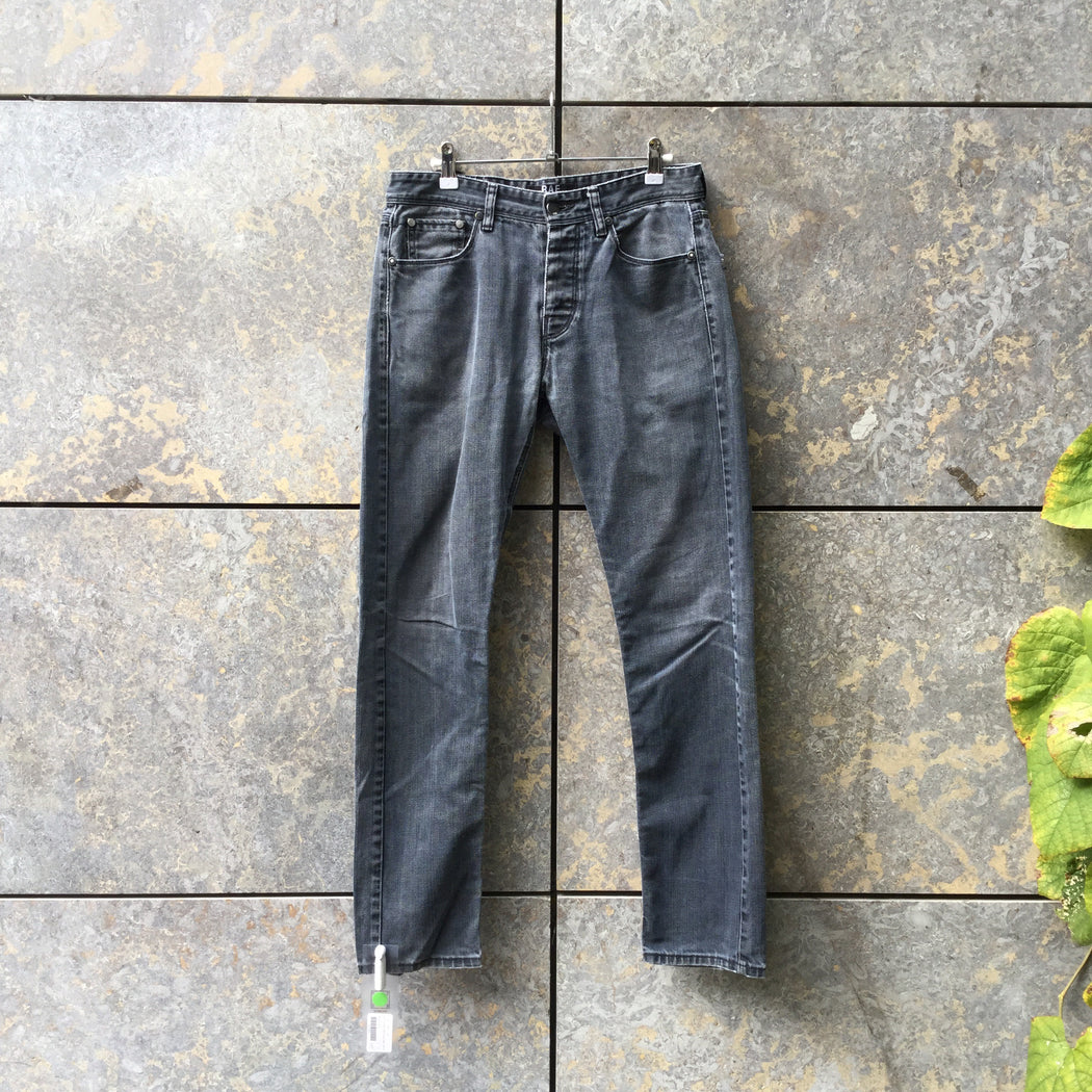 Dark Grey Denim Raf Simons Jeans  Size 30