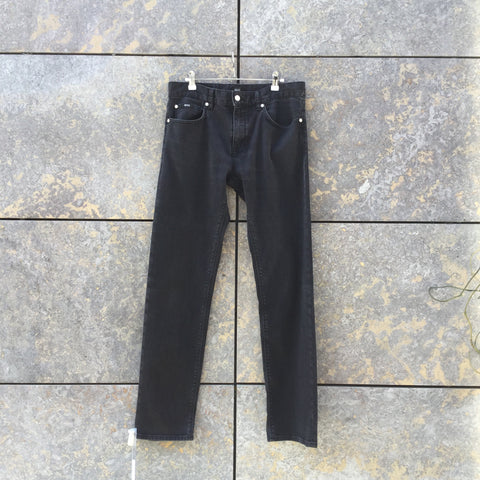 Faded Black Denim Hugo Boss Slim Fit Jeans  Size 34