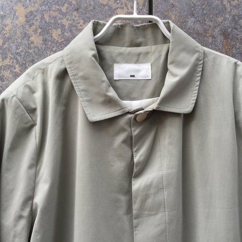 Khaki Cotton / Poly Mix Contemporary Light Jacket Boxy Size L
