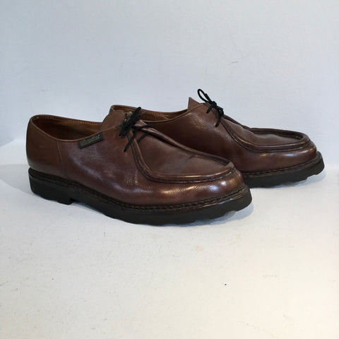 Brown Leather Paraboot Shoes  Size 47