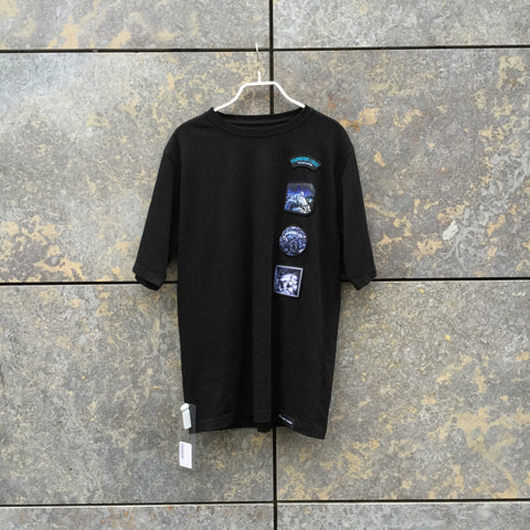 Black Cotton Independent T-Shirt Directional Size M