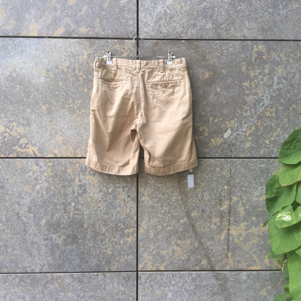 Khaki Cotton Mix J. Crew Shorts  Size 28