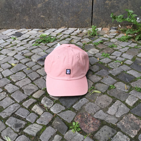 Pastel Pink Cotton Obey Cap Stitching Detail Size ADJUSTABLE
