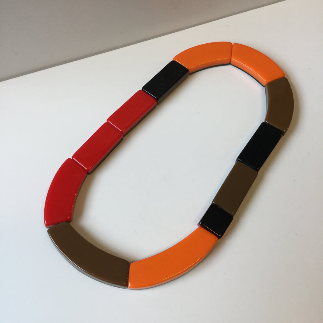 Colorful Resin Marni At H&m Necklace