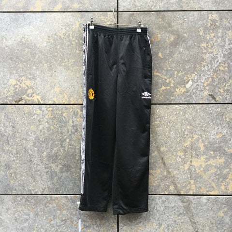Black-White Polyamide Umbro Jogging Pants  Size 32