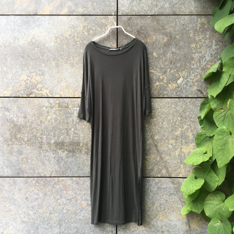 Army Rayon Replay Jersey Dress  Size XS/S