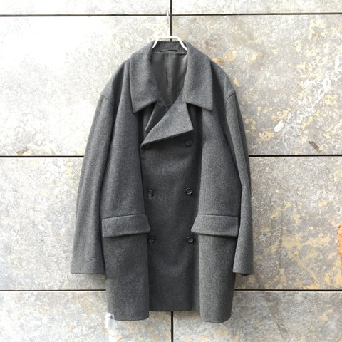 Slate Wool Jil Sander Parka Adjustable Feature Size XL/XXL