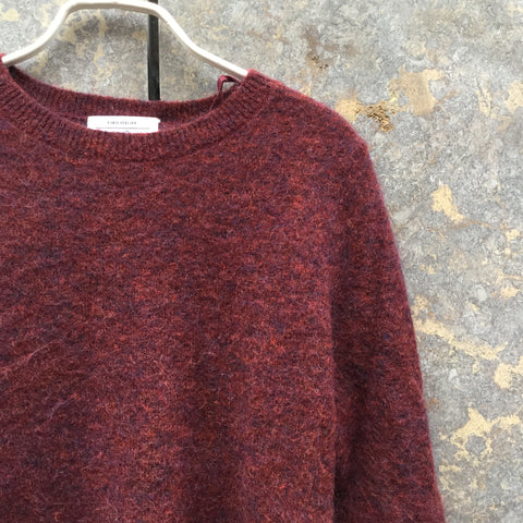 Chestnut Mohair Other Stories Sweater  Size XS/S