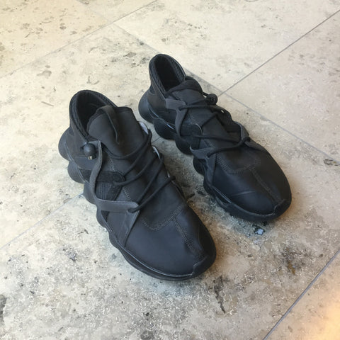 Black Synthetic Y-3 Sneakers  Size 43