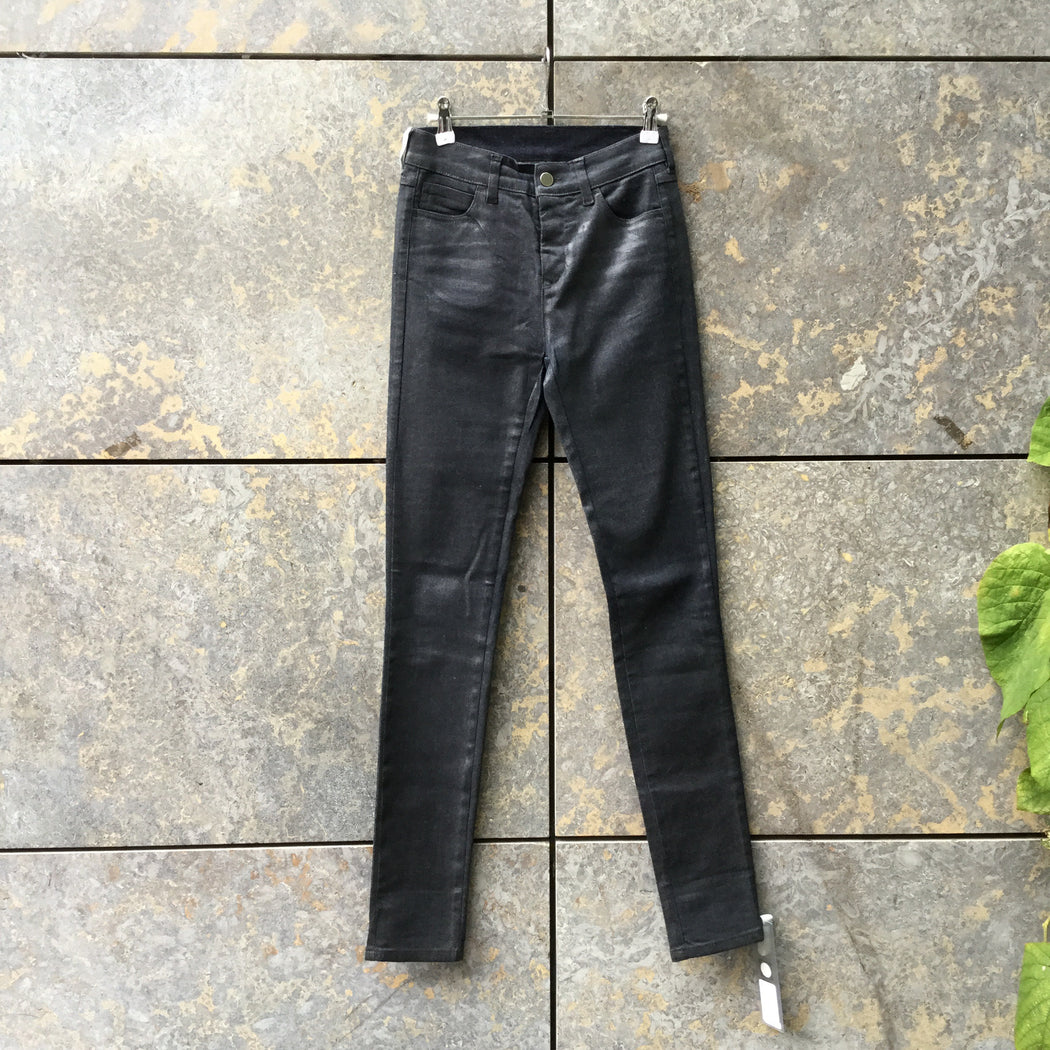 Midnight Blue Denim Mm6 Maison Margiela Slim Fit Jeans  Size 25/26
