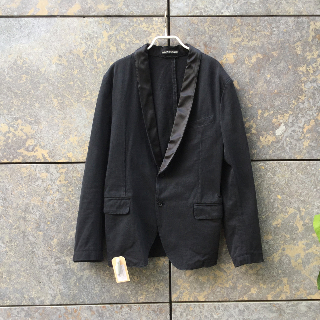 Black Cotton Mix Drykorn Blazer  Size M