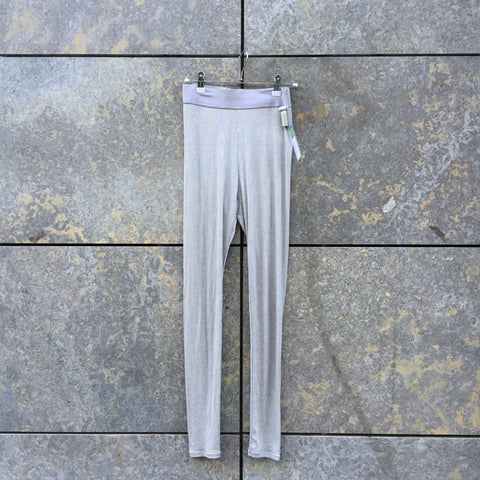 Grey Polyester Mix Uniqlo Collaboration Leggings