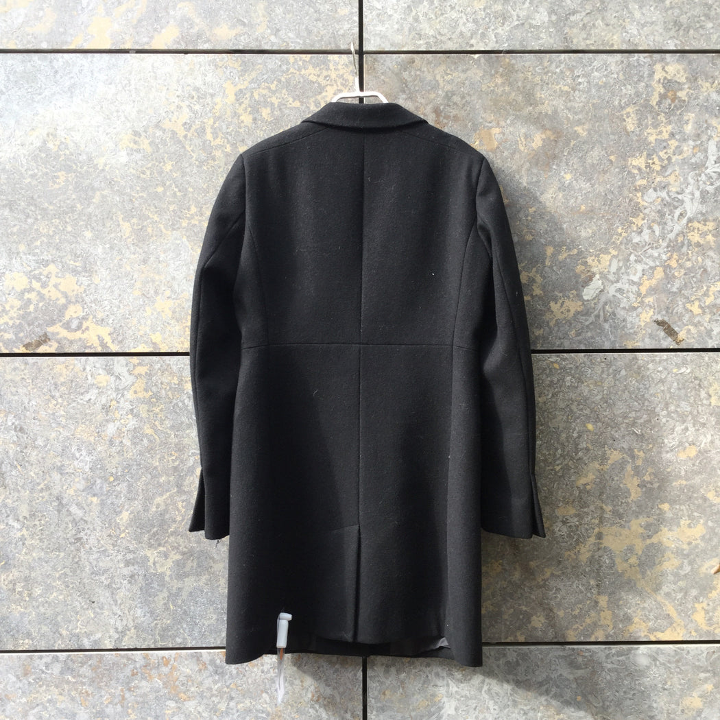 Black Polyester Modern Max&co Peacoat  Size XS/S