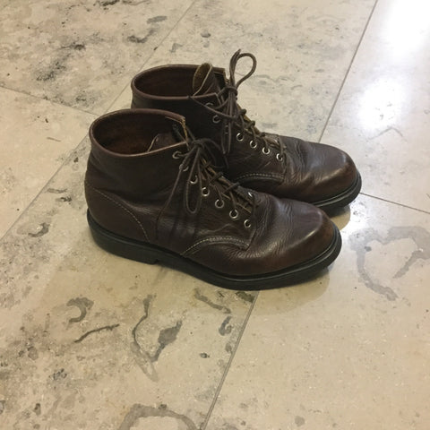 Burgundy Leather Red Wing Heritage Boots  Size 41