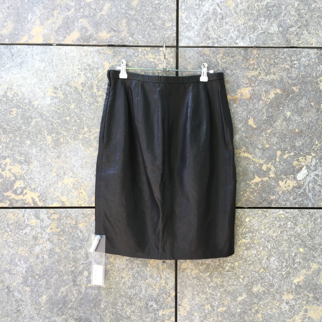 Black Leather Other Stories Pencil Skirt  Size 30/31