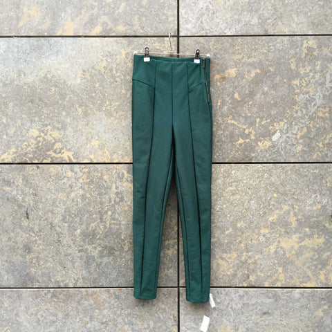 Emerald Elastine Mix Contemporary Main Trousers High Waist Size 28/29