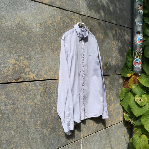 Light Blue Cotton All Saints Shirt  Size XS/S