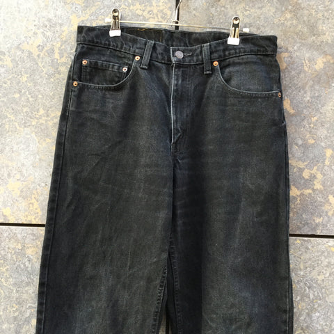 Black Denim Levi's Jeans  Size 34