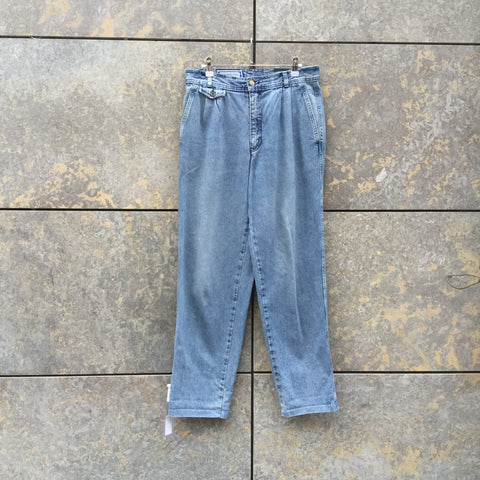 Denim Blue Denim Yves Saint Laurent Straight Fit Jeans  Size 32