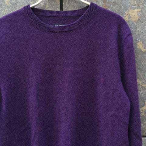 Purple Cashmere Independent Sweater  Size S