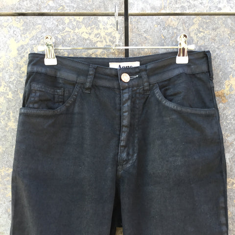 Faded Black Cotton Acne Studio ( jeans ) Slim Fit Jeans Waxed Size 26/27